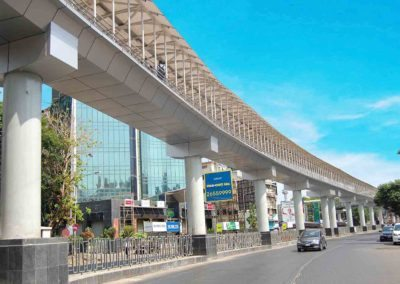 Skywalk at Bandra (West) Mumbai