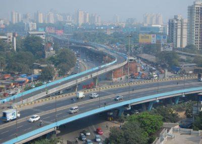 Kapurbawdi Flyover, Maharashtra