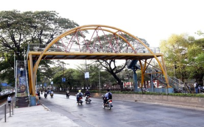 Foot-Over-Bridge at Chinchwad, Pune now open for public use