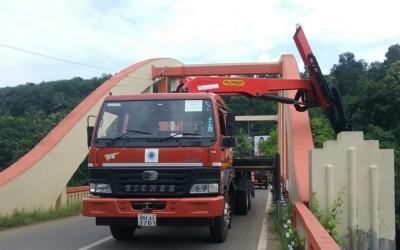 Kerala bridges undergo inspections with the Mobile Bridge Inspection Unit (MBIU)