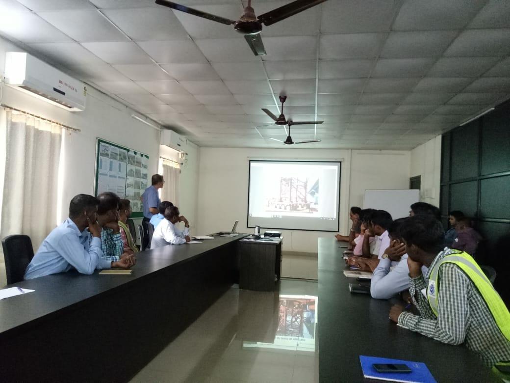 Mr. Utpal Chakravarty (Vice President) delivers presentation at Goa